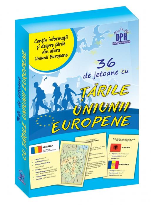 36 de jetoane cu tarile Uniunii Europene - Didactica Publishing House [0]