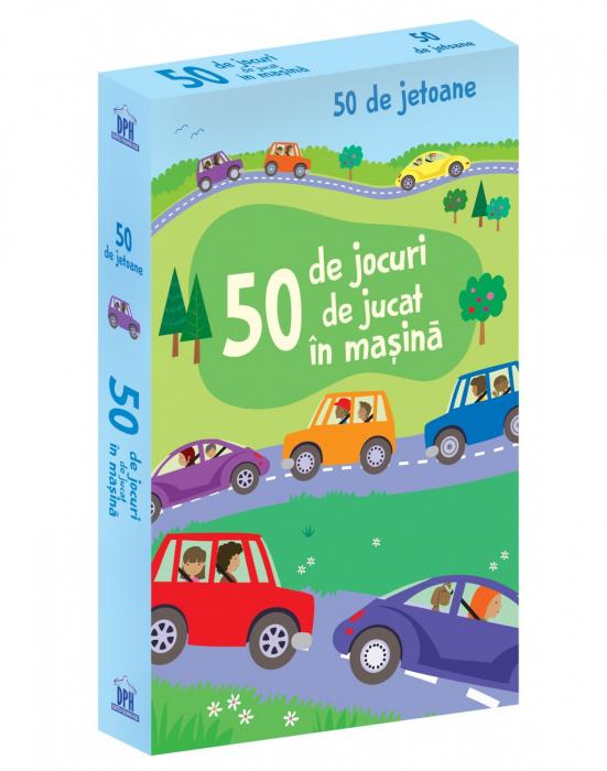 50 DE JOCURI DE JUCAT IN MASINA - JETOANE- joc educativ Didactica Publishing House [0]