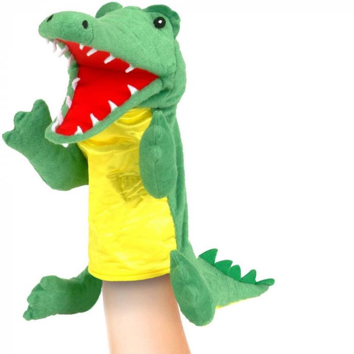 Personaj teatrul de papusi - Crocodilul / Big crocodile puppet [2]