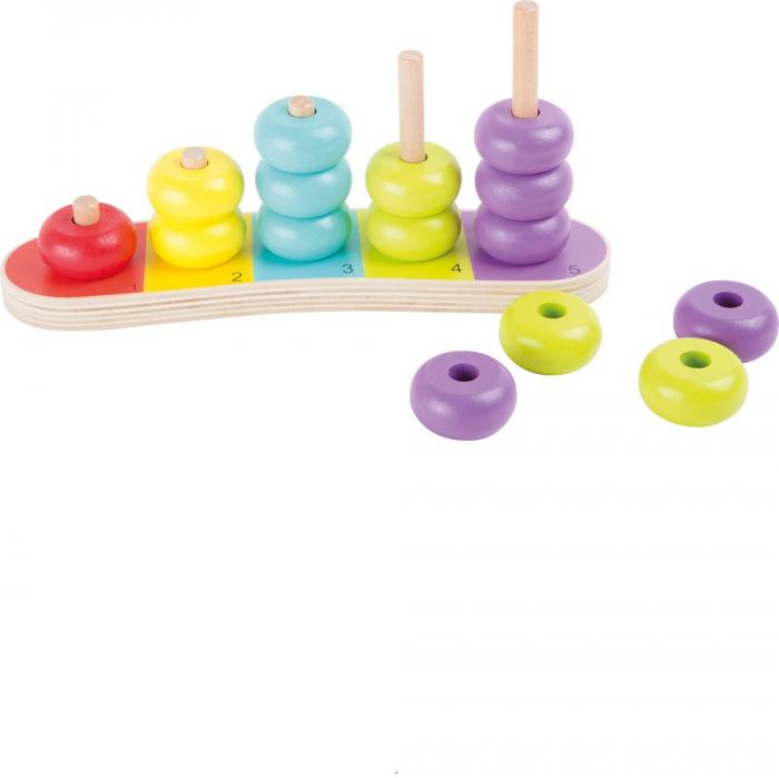 Abac cu discuri colorate - Legler [0]