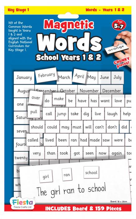 Activitati cu litere magnetice pentru incepatori / Magnetic words Board for year 1-2 [0]
