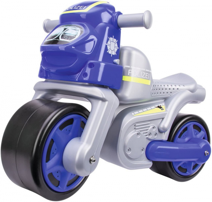 Big premergator motocicleta de politie cu roti din cauciuc [0]