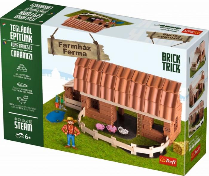 Brick Trick Ferma mare din caramidute ceramice [1]