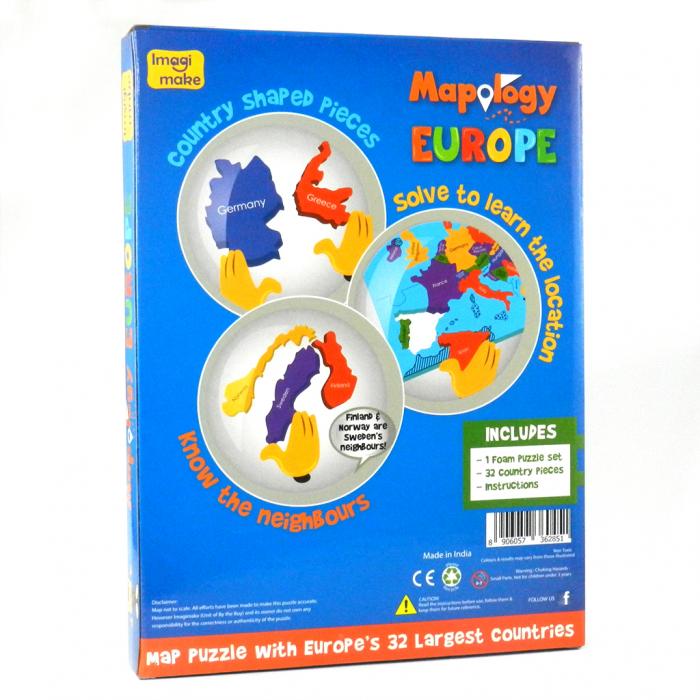 Cadou 8-14 ANI - Puzzle Harta Europei + Constructie Circuite Integrate [5]