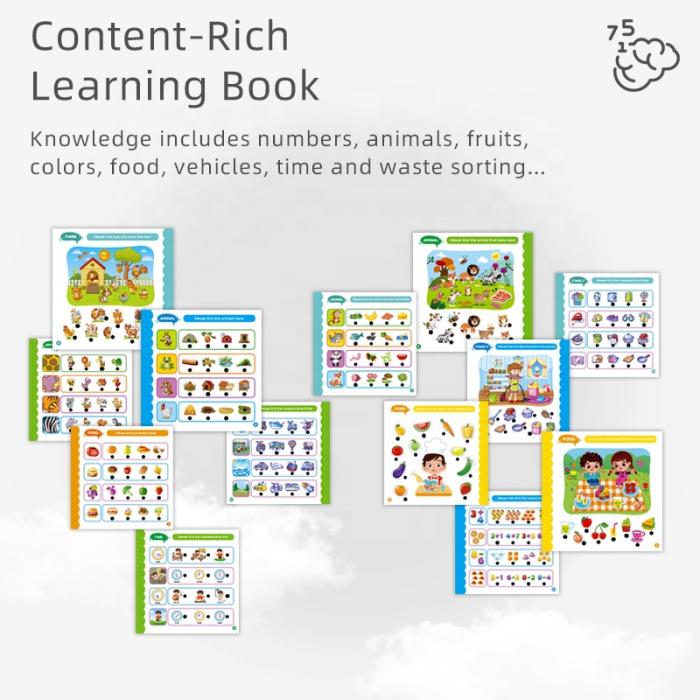 Carte cu activitati in Limba Engleza cu Creion Interactiv [5]