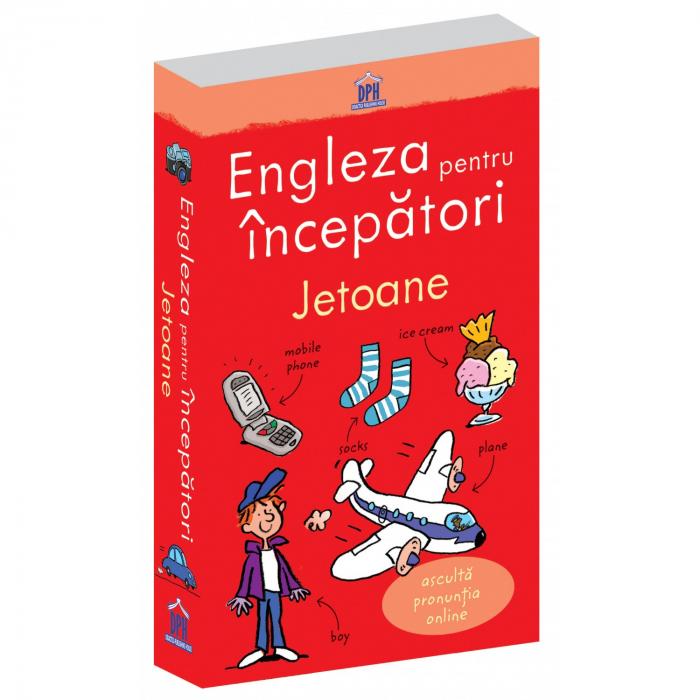 ENGLEZA PENTRU INCEPATORI - 100 jetoane- joc educativ Didactica Publishing House [0]