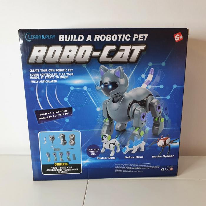 Robot Electromecanic de asamblat Pisica [2]