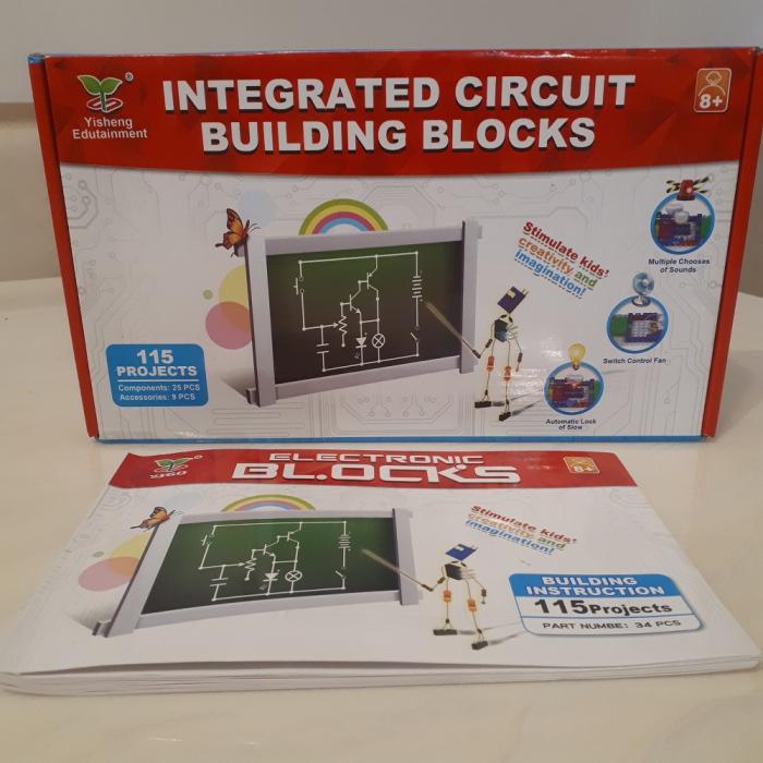 Joc constructie cu circuite integrate 115 proiecte [12]