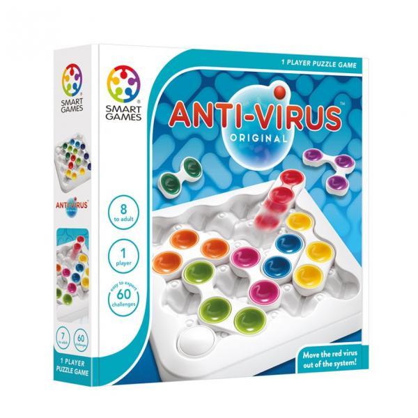 Joc de logica si concentrare Anti-Virus -Smartgames [0]