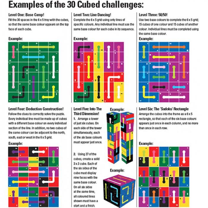 Joc educativ 30 Cubed The Happy Puzzle Company [2]
