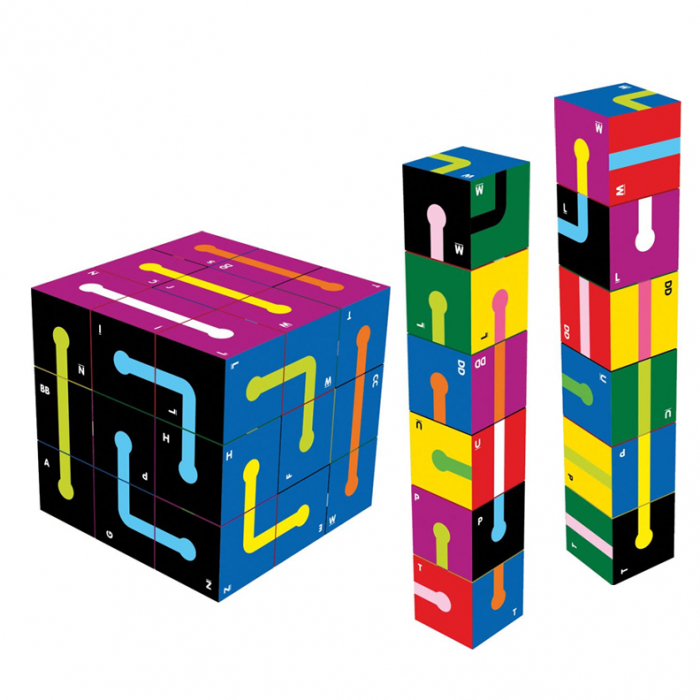 Joc educativ 30 Cubed The Happy Puzzle Company [4]