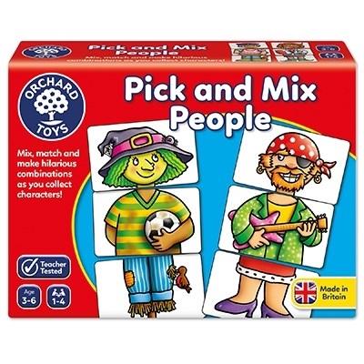 Joc educativ Asociaza personajele PICK AND MIX PEOPLE [0]
