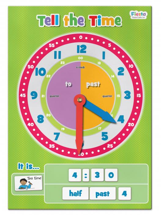Joc educativ Cat e ceasul? / Tell the time Fiesta Crafts [4]