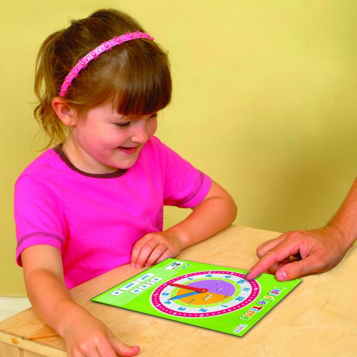 Joc educativ Cat e ceasul? / Tell the time Fiesta Crafts [1]