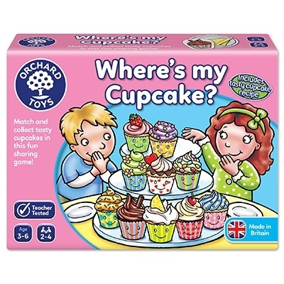 Joc educativ in limba engleza Briosa WHERE'S MY CUPCAKE? [3]