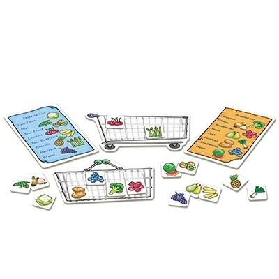 Joc educativ in limba engleza Lista de cumparaturi Fructe si legume [3]