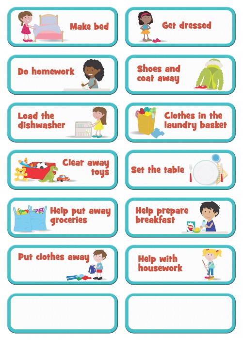 Joc educativ Organizator de activitati / My to do list - Fiesta Crafts [1]