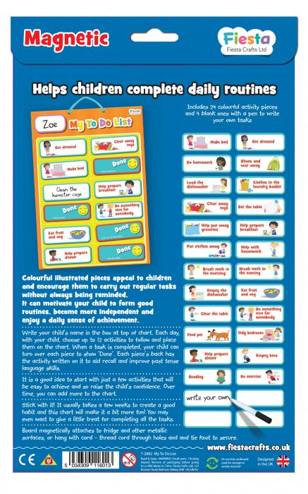 Joc educativ Organizator de activitati / My to do list - Fiesta Crafts [4]
