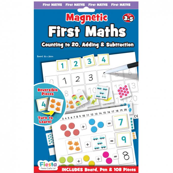 Joc educativ Primele notiuni de matematica / First Maths - Fiesta Crafts [0]