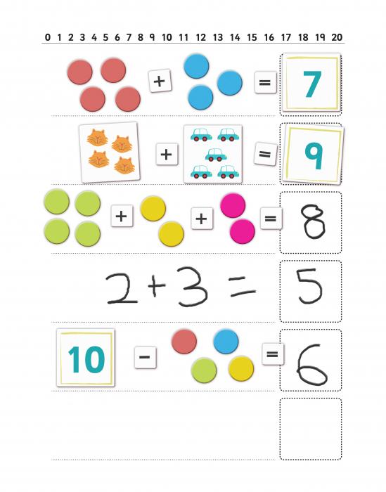 Joc educativ Primele notiuni de matematica / First Maths - Fiesta Crafts [1]