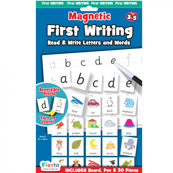 Joc educativ Primele notiuni de scris - Litere / First Writing - Fiesta Crafts [0]