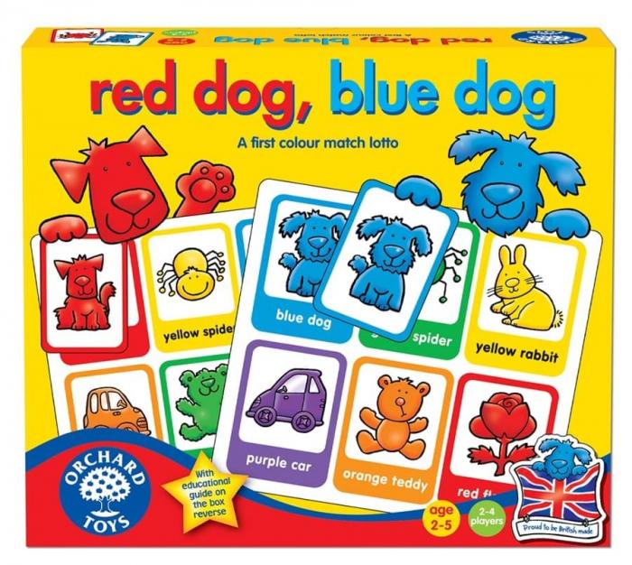 Joc loto Catelusii / RED DOG BLUE DOG [0]
