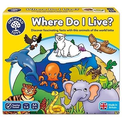 Joc loto Habitate / WHERE DO I LIVE [4]