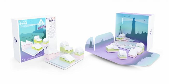Kit constructii Tiny Town 02 Arckit [3]