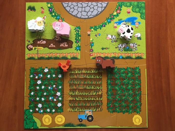LA FERMA - SET CU PUZZLE,CARTE, FIGURINE - joc educativ Didactica Publishing House [6]