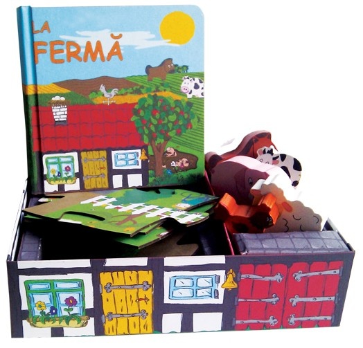 LA FERMA - SET CU PUZZLE,CARTE, FIGURINE - joc educativ Didactica Publishing House [0]
