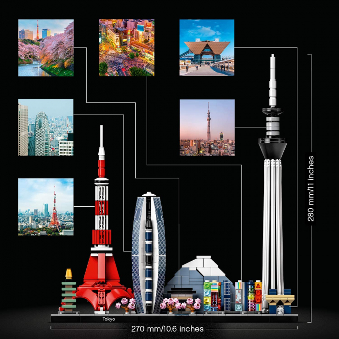 Lego Architecture  Tokyo 21051 [7]