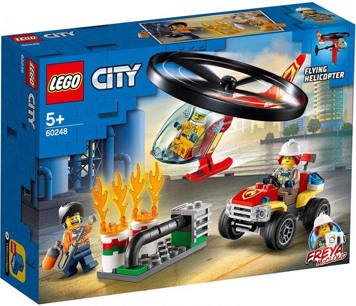 LEGO CITY INTERVENTIE CU ELICOPTERUL DE POMPIERI 60248 [0]