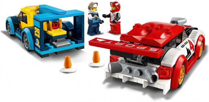 LEGO CITY MASINI DE CURSE 60256 [4]