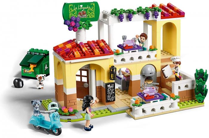 LEGO FRIENDS RESTAURANTUL DIN ORASELUL HEARTLAKE 41379 [5]