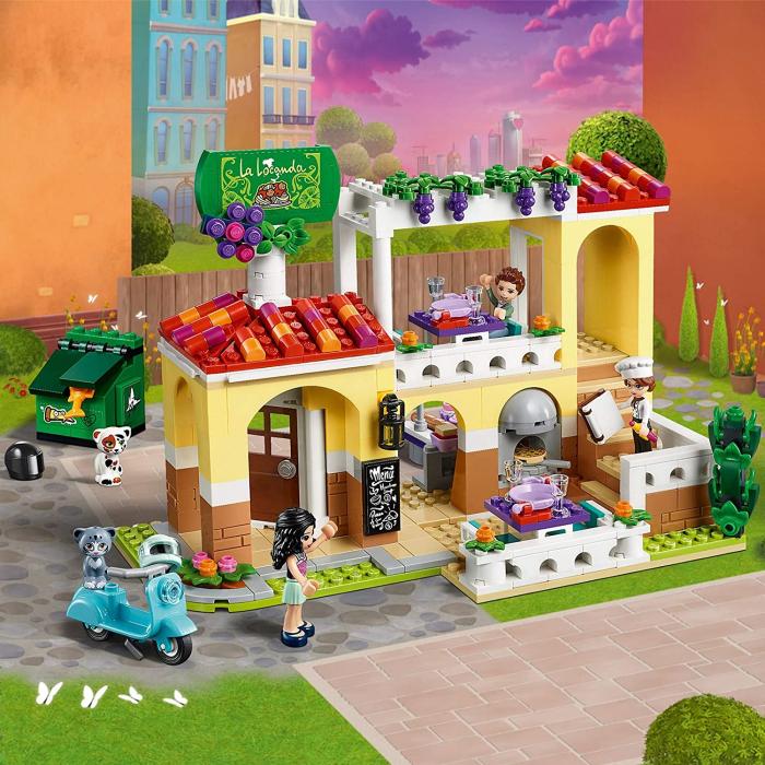 LEGO FRIENDS RESTAURANTUL DIN ORASELUL HEARTLAKE 41379 [3]
