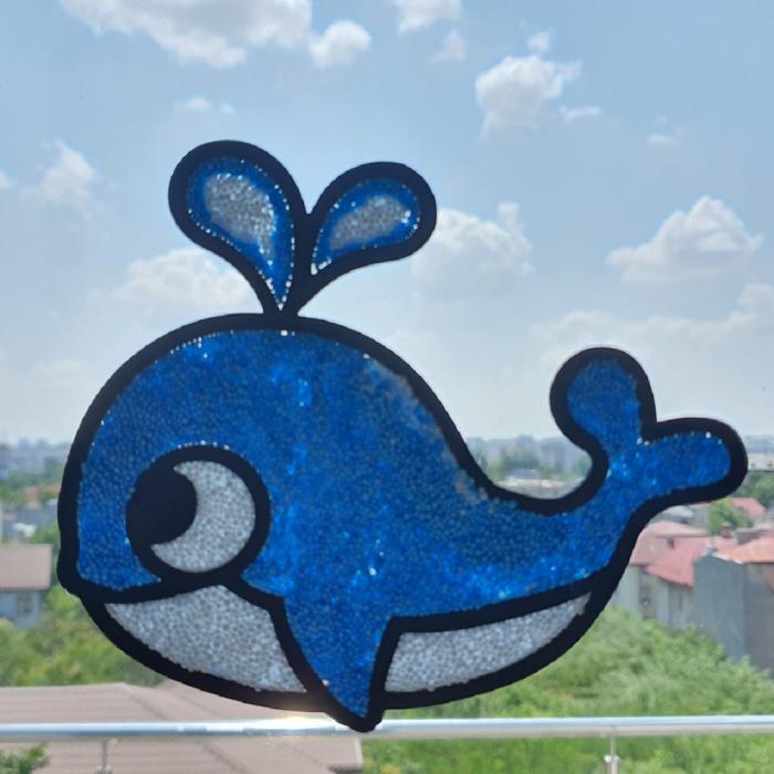 Set creativ stickere pentru fereastra – Aqua World [2]