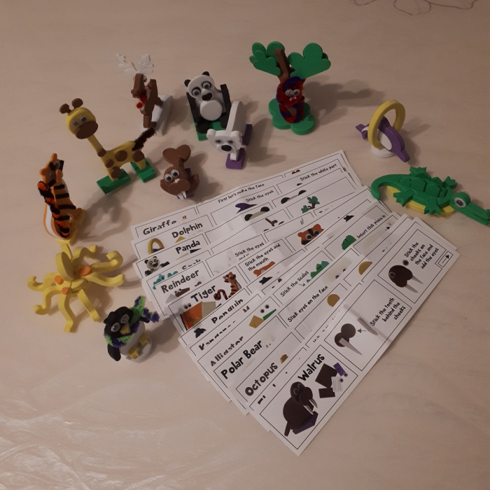 Cadou 8-14 ANI - Puzzle Harta lumii cu steaguri si capitale + Puzzle 3D Animale [2]
