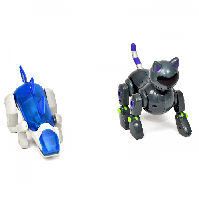 Pachet Roboti Electromecanici - Dinozaur si Pisica [1]