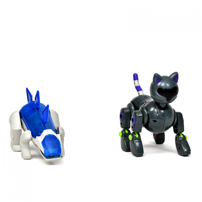 Pachet Roboti Electromecanici - Dinozaur si Pisica [3]