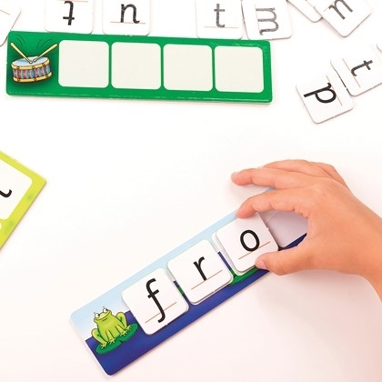 Potriveste si formeaza cuvinte / MATCH AND SPELL [5]
