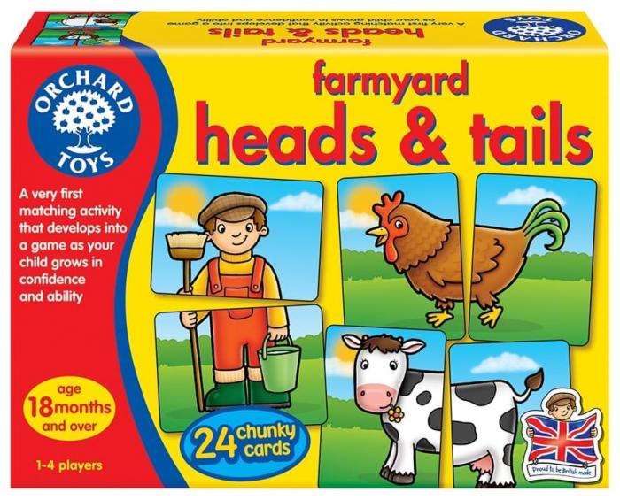 Prietenii de la ferma / FARMYARD HEADS & TAILS [0]