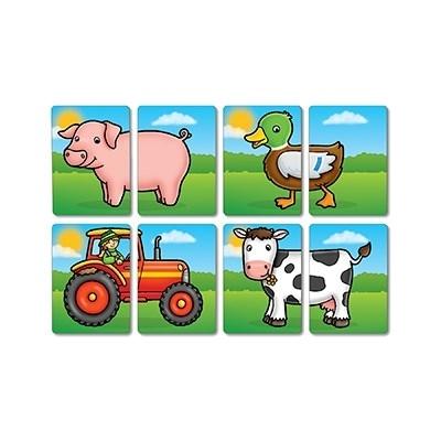 Prietenii de la ferma / FARMYARD HEADS & TAILS [4]