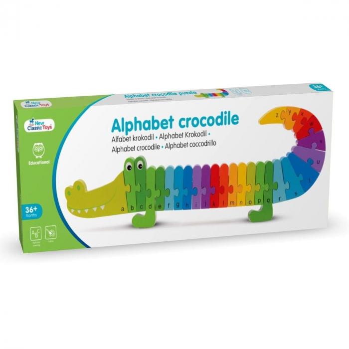 Puzzle Alfabet - Crocodil [5]