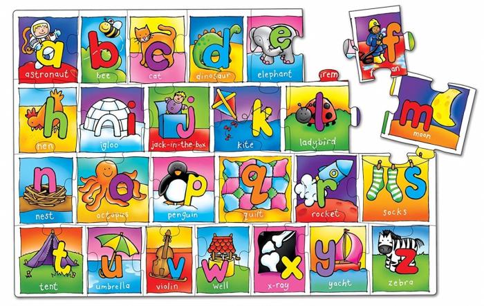 Puzzle Alfabetul / GIANT ALPHABET [4]