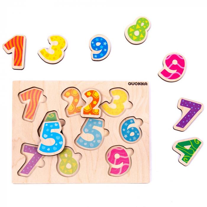 Cadou 3-5 ANI - Set Creativ cu stampile + 2 Puzzle lemn [5]