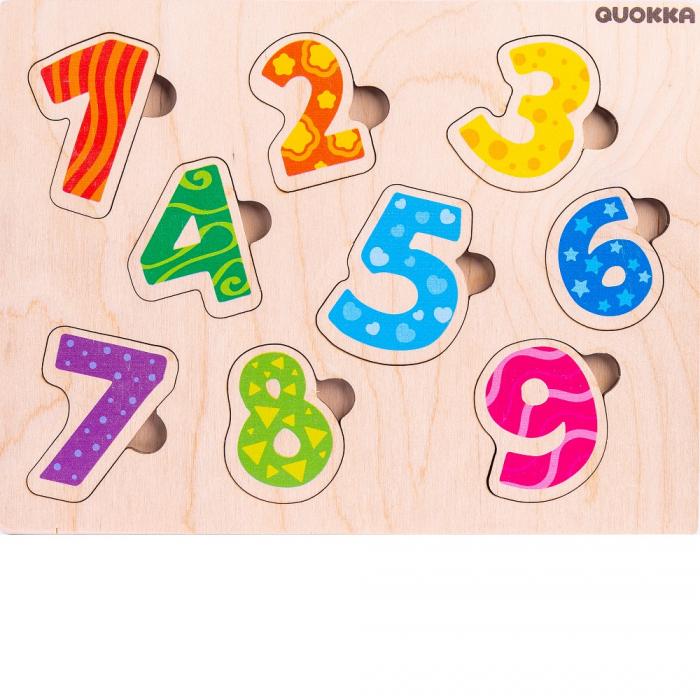 Puzzle Cifre - jucarie educativa Quokka [1]