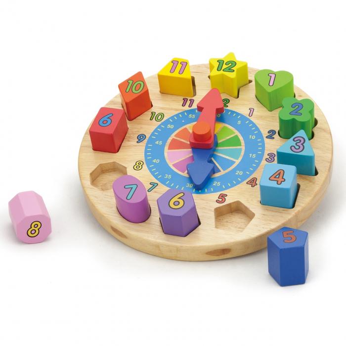 Puzzle din lemn Ceas [0]