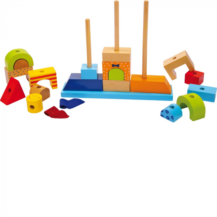 "Puzzle lemn ""Castelul de nisip"" - Legler [1]"