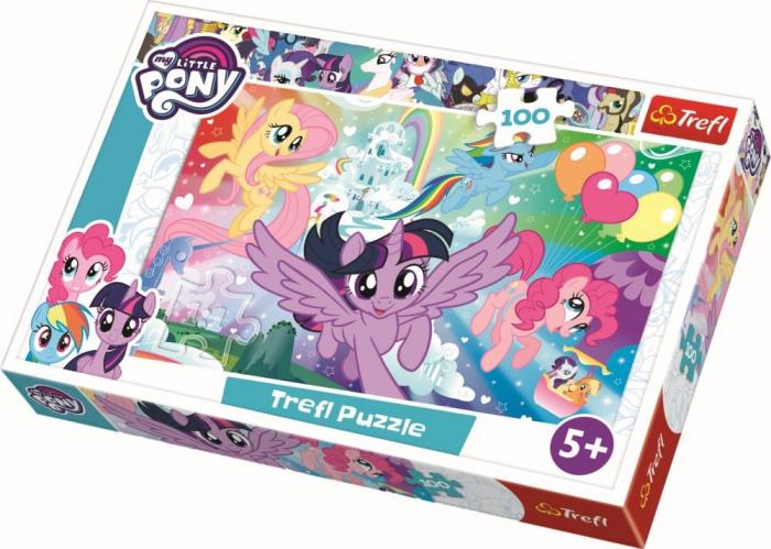 Puzzle Trefl 100 Curcubeul prieteniei [0]