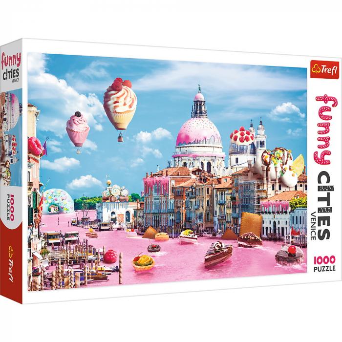 Puzzle Trefl 1000 Prajiturele la Venetia [0]